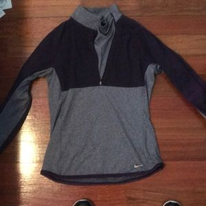 Purple Nike long sleeve running top